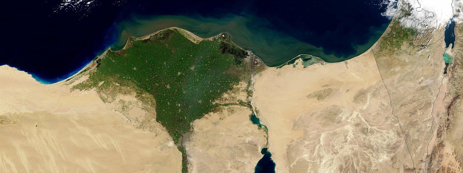 Orografía de Egipto