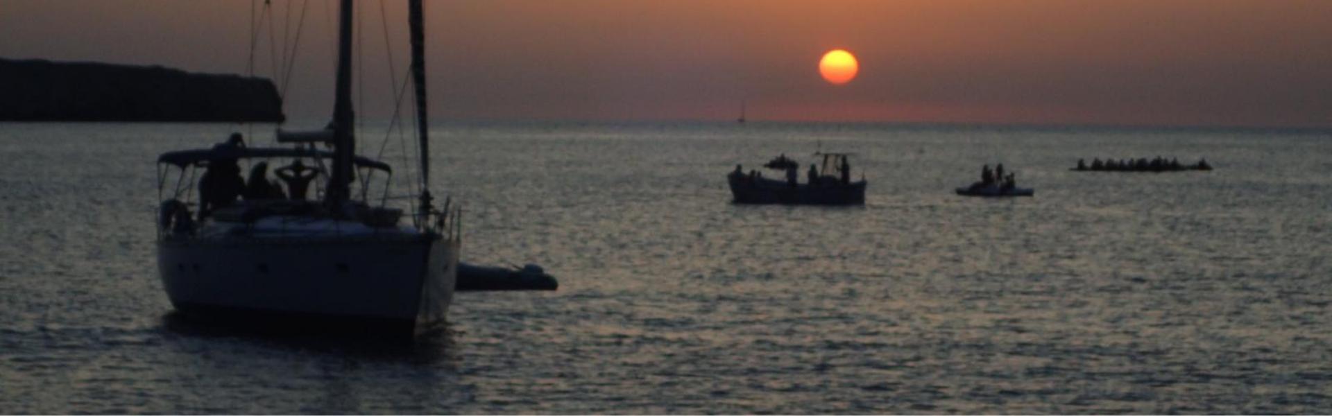 Velero Ibiza Sunset