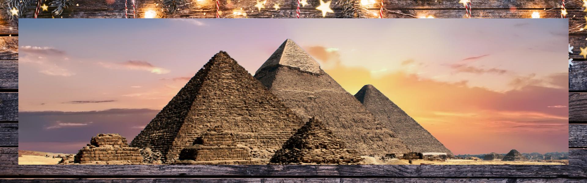 Piramides de Guiza, Egipto