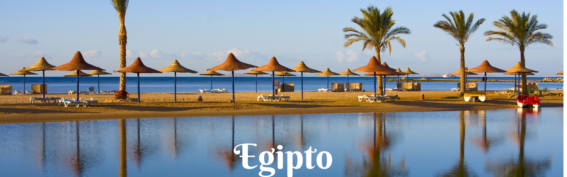 playa en egipto