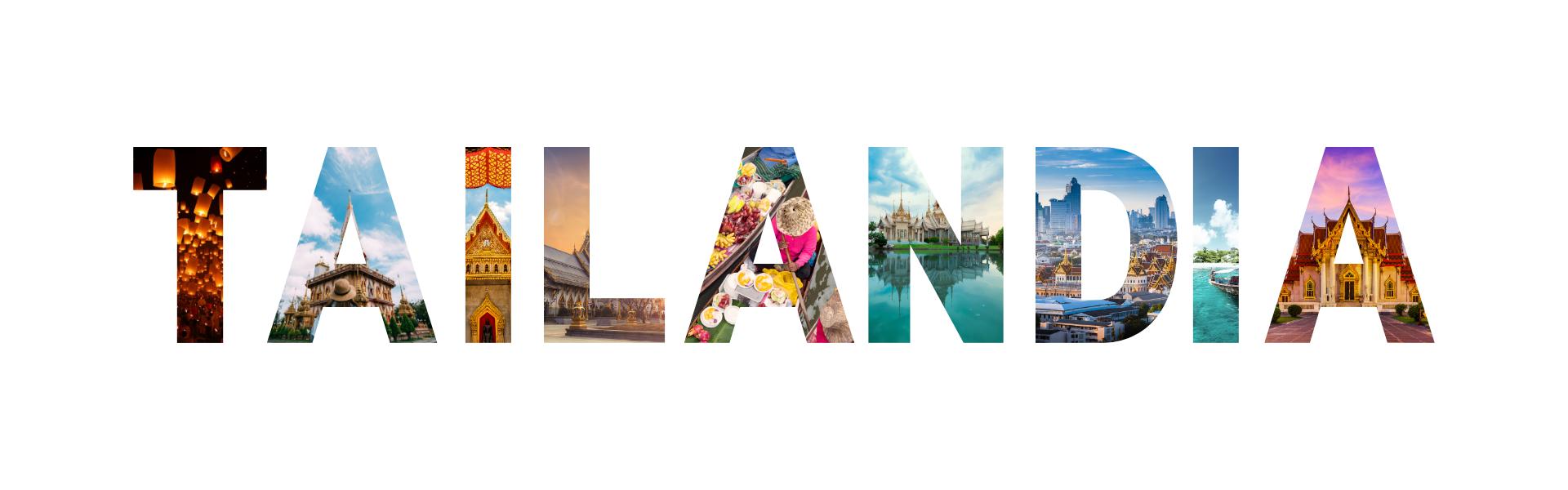 tailandia en letras