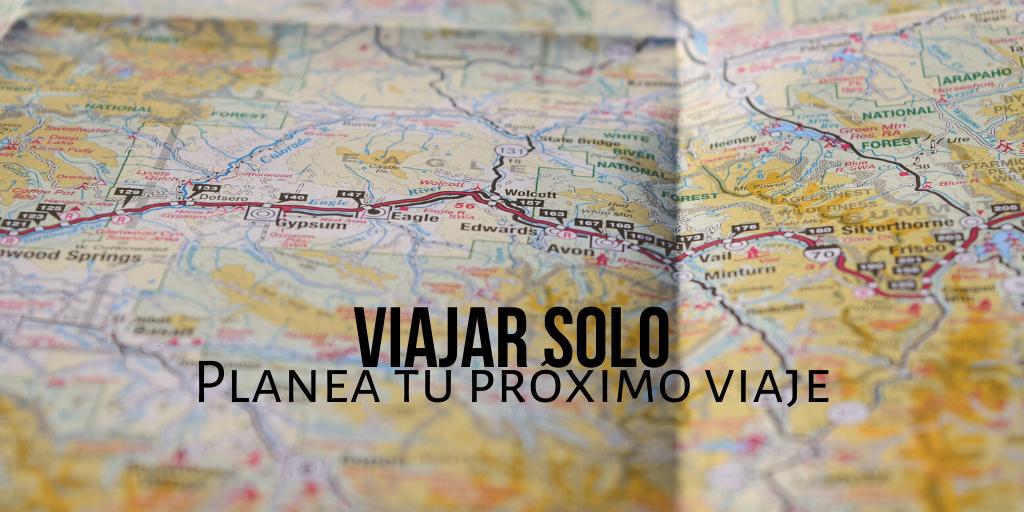 viajar solo mapa